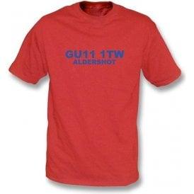 GU11 1TW Aldershot T-Shirt (Aldershot)