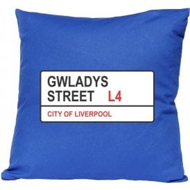 Gwladys Street L4 (Everton) Cushion
