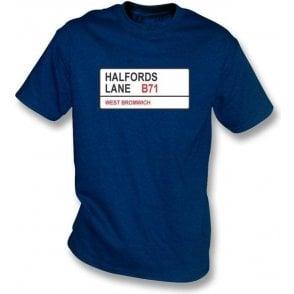 Halfords Lane B71 T-Shirt (West Brom)