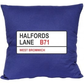 Halfords Lane B71 (West Brom) Cushion