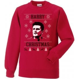 Harry Christmas (Maguire - Manchester United) Kids Christmas Jumper