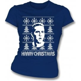 Harry Christmas (Tottenham Hotspur) Womens Slim Fit T-Shirt