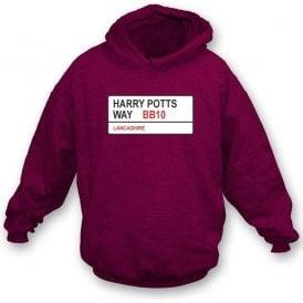 Harry Potts Way BB10 Hooded Sweatshirt (Burnley)