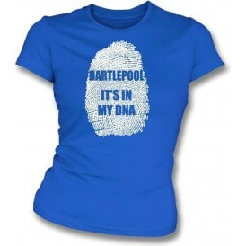 Hartlepool - It's In My DNA Womens Slim Fit T-Shirt