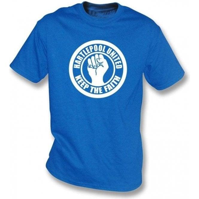 Hartlepool Keep the Faith T-shirt