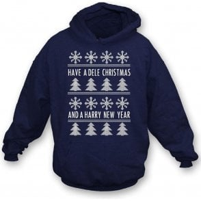 Have A Dele Christmas & A Harry New Year Kids Hooded Sweatshirt