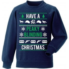 Have A Peaky Blinding Christmas (Birmingham City) Christmas Jumper