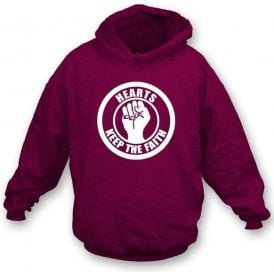 Hearts Keep the Faith Hooded Sweatshirt