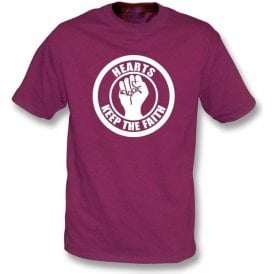 Hearts Keep the Faith T-shirt