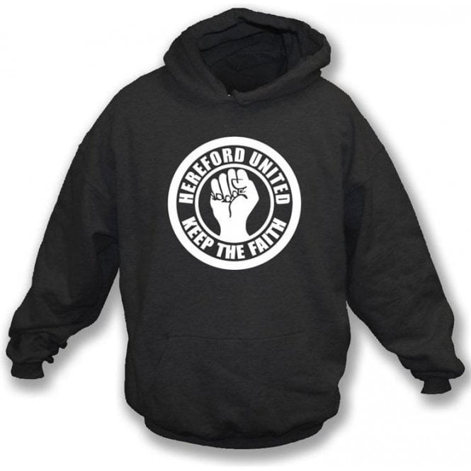 Hereford Keep the Faith Hooded Sweatshirt