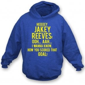 Hey Jakey Reeves (AFC Wimbledon) Hooded Sweatshirt