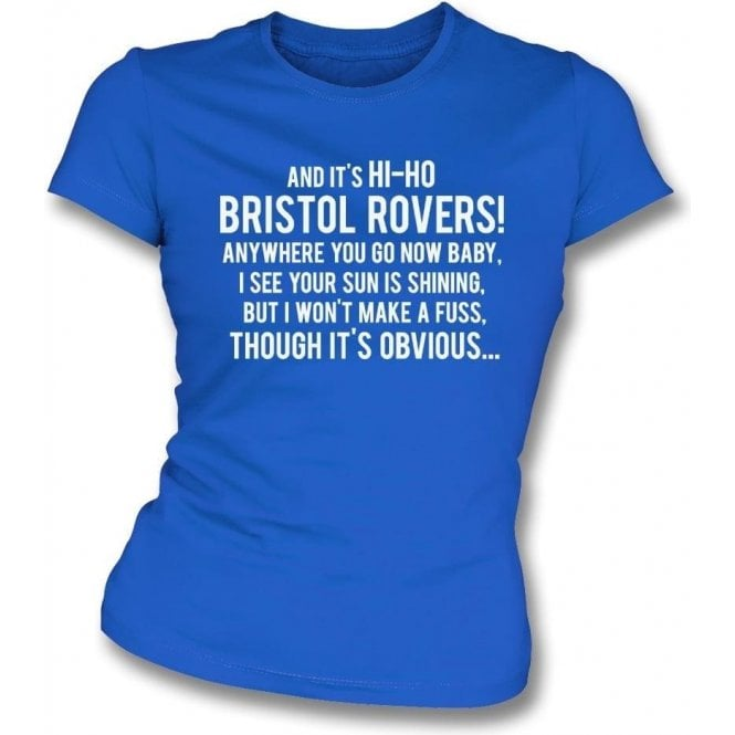 Hi-Ho Bristol Rovers Womens Slim Fit T-Shirt