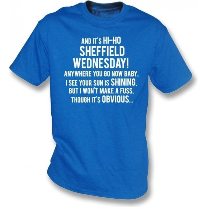 Hi-Ho Sheffield Wednesday T-Shirt