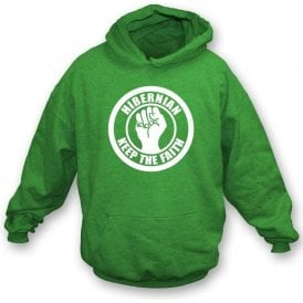 Hibernian Keep the Faith Hooded Sweatshirt