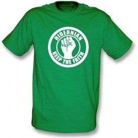 Hibernian Keep the Faith T-shirt