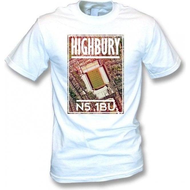 Highbury N5 1BU (Arsenal) T-Shirt