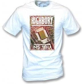 Highbury N5 1BU (Arsenal) T-Shirt