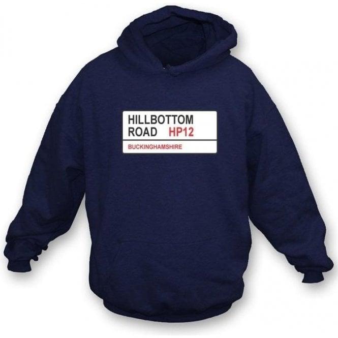 Hillbottom Road HP12 Hooded Sweatshirt (Wycombe Wanderers)