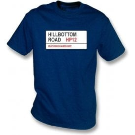 Hillbottom Road HP12 T-Shirt (Wycombe Wanderers)