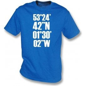 Hillsborough Coordinates (Sheffield Wednesday) Kids T-Shirt