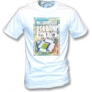 Hillsborough Stadium S6 1SW (Sheffield Wednesday) T-shirt