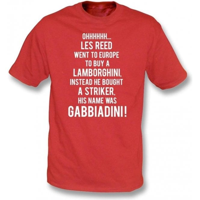 His Name Was Gabbiadini (Southampton) T-Shirt