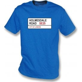 Holmesdale Road SE25 Kids T-Shirt (Crystal Palace)