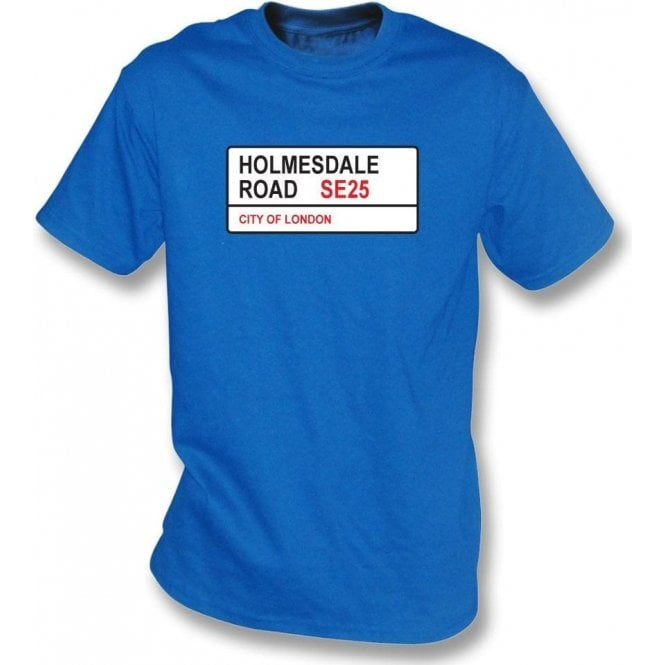 Holmesdale Road SE25 T-Shirt (Crystal Palace)