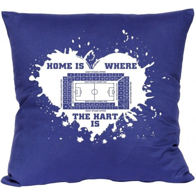 Home Is Where The Hart Is (Spurs) Cushion
