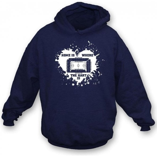 Home Is Where The Hart Is (Spurs) Hooded Sweatshirt