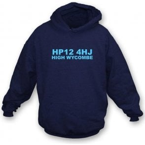 HP12 4HJ High Wycombe Hooded Sweatshirt (Wycombe Wanderers)