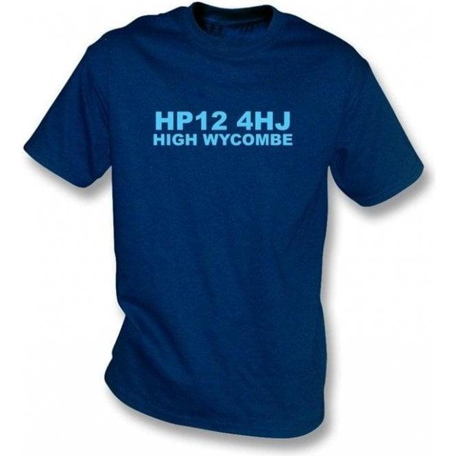 HP12 4HJ High Wycombe T-Shirt (Wycombe Wanderers)