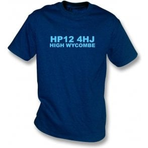 HP12 4HJ High Wycombe T-Shirt (Wycombe Wanderers)
