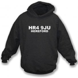 HR4 9JU Hereford Hooded Sweatshirt (Hereford United)