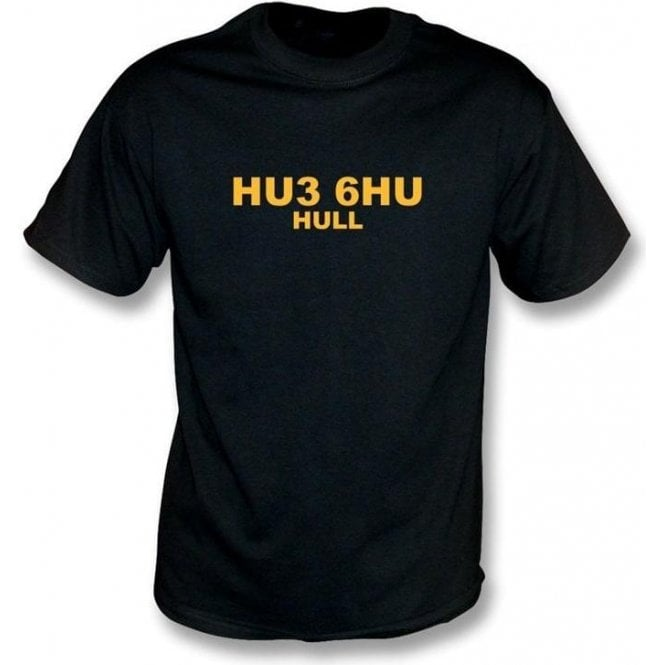 HU3 6HU Hull T-Shirt (Hull City)