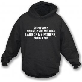Hymns And Arias (Swansea) Hooded Sweatshirt