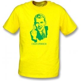 I Hate Ipswich T-shirt (Norwich City)