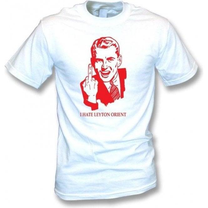 I Hate Leyton Orient T-shirt (Dagenham & Redbridge)