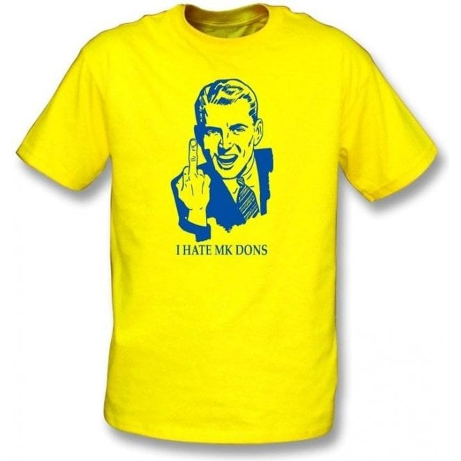 I Hate MK Dons T-shirt (AFC Wimbledon)