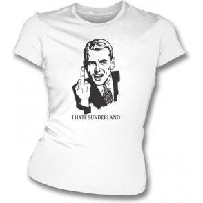 I Hate Sunderland Women's Slimfit T-shirt (Newcastle United)