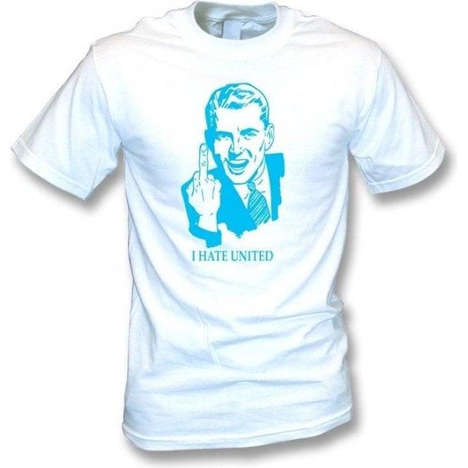I Hate United T-shirt (Man City)