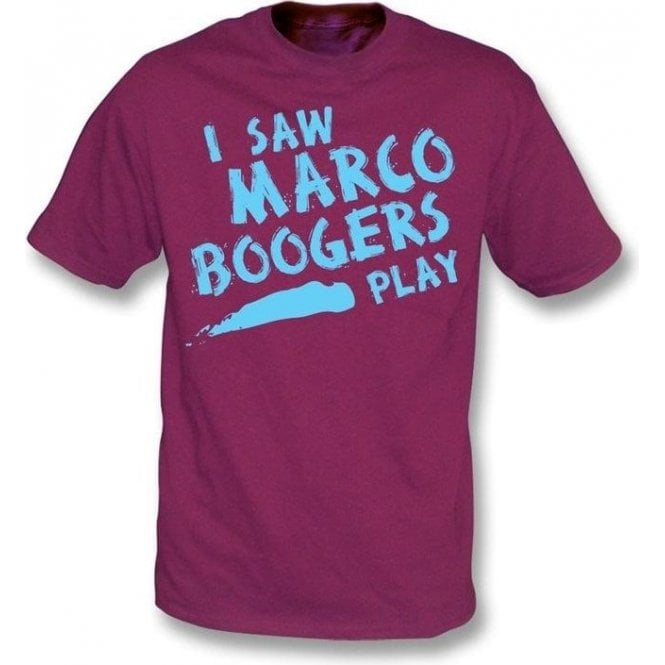 I saw Marco Boogers t-shirt
