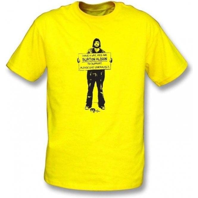 I Support Burton Albion T-shirt