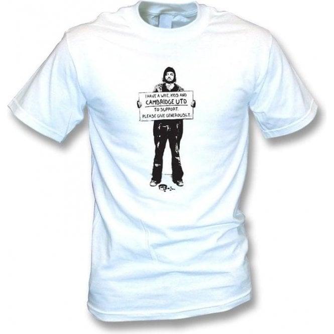 I Support Cambridge Utd T-shirt
