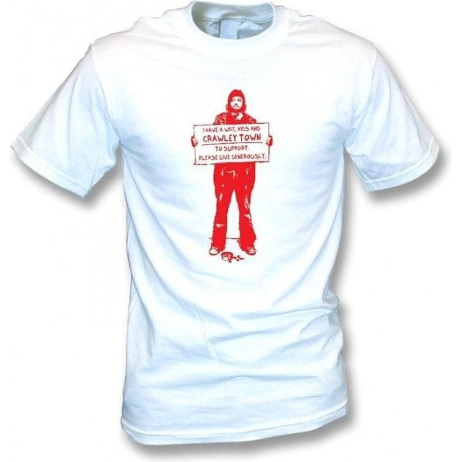 I Support Crawley Town T-shirt