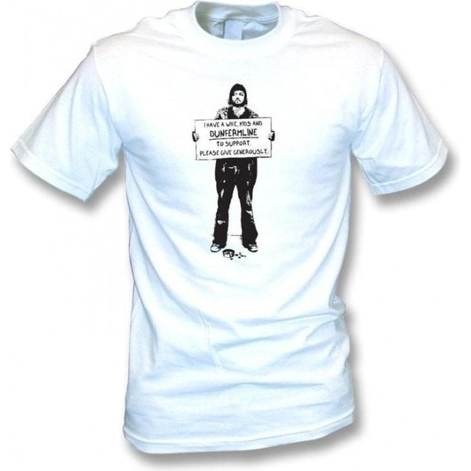 I Support Dunfermline T-shirt