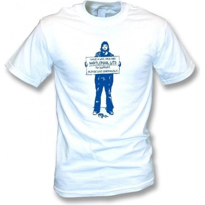 I Support Hartlepool Utd T-shirt
