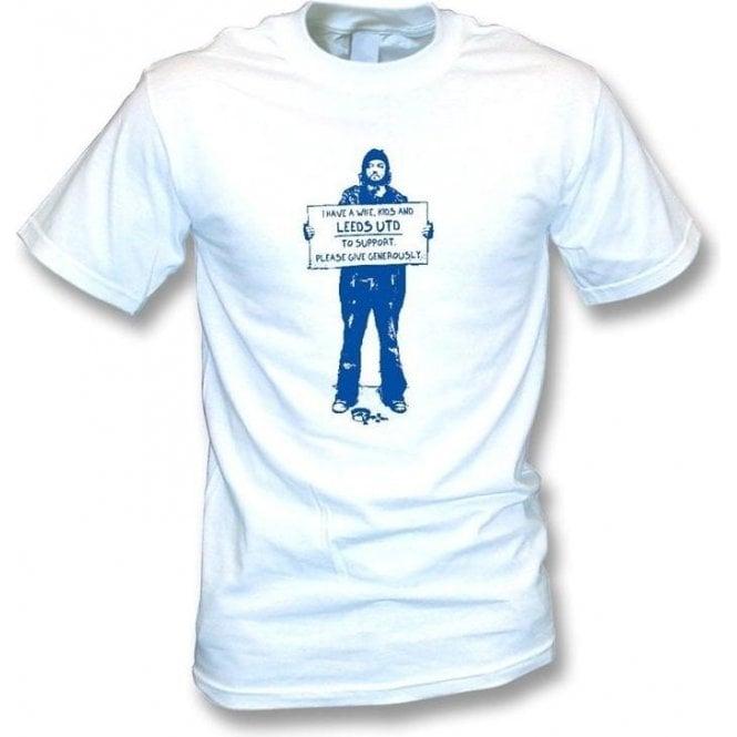 I Support Leeds Utd T-shirt