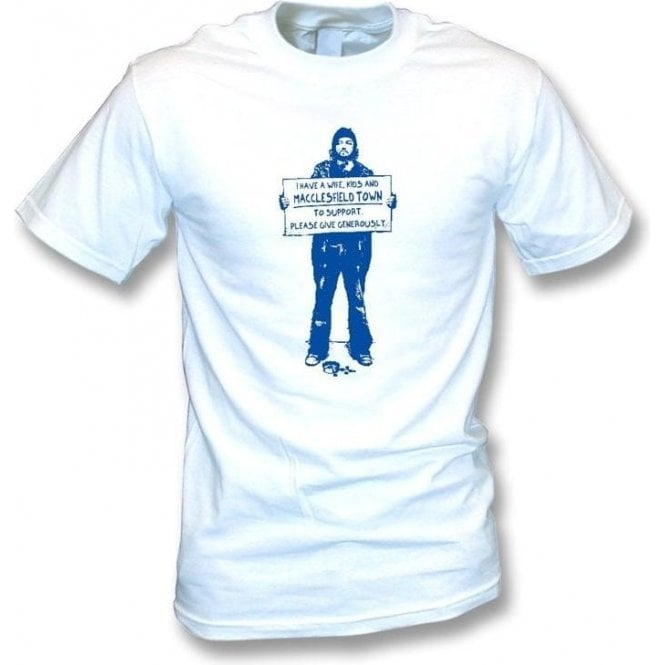 I Support Macclesfield Town T-shirt