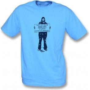 I Support Man City T-shirt